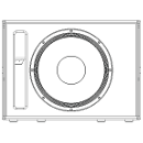 CXL151 - No Grille Front View